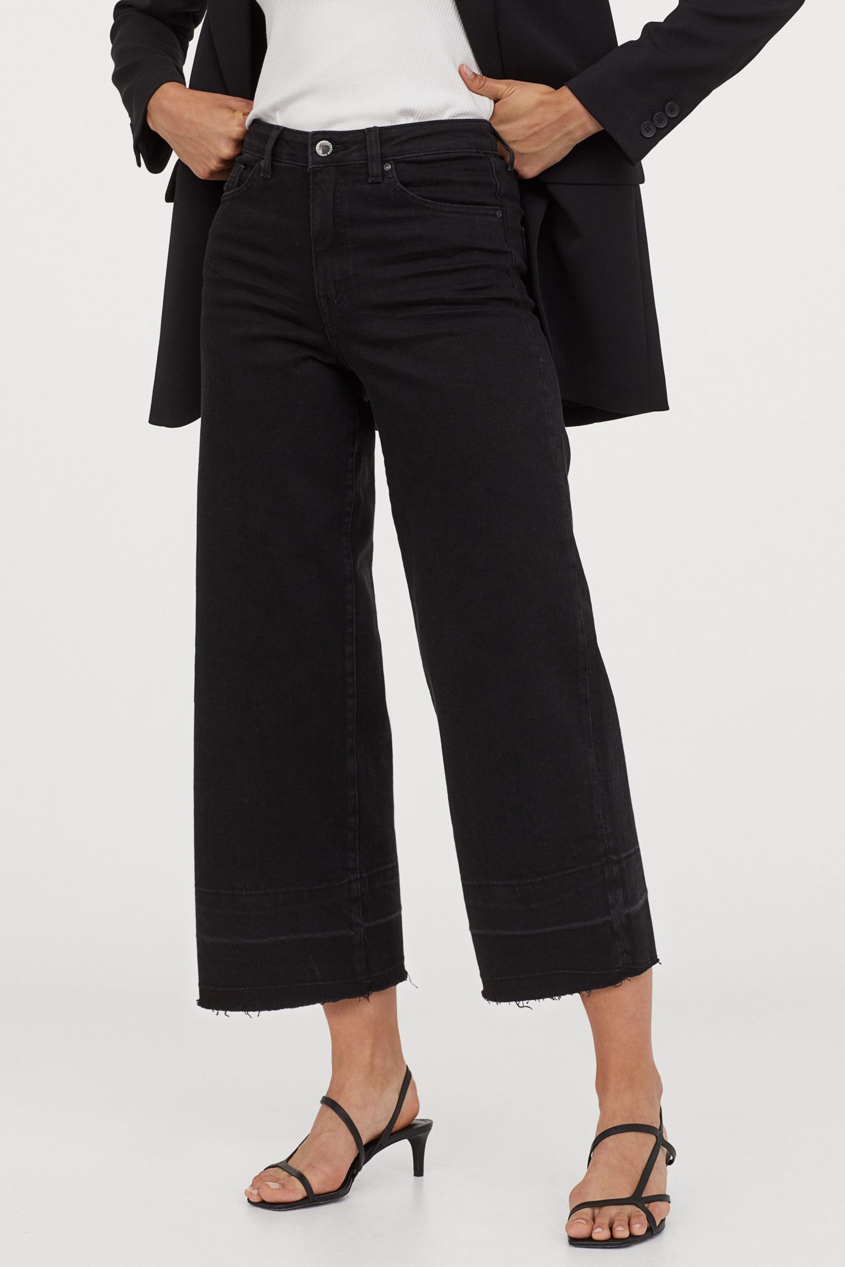 Culotte high ankle jeans £24.99