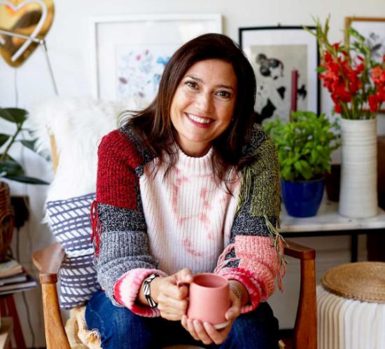 Colour conversation with stylist, Leesa Whisker